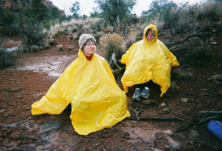 Expert Sedona Spirit Yoga & Hiking guides lead vortex hikes with yoga and meditation in all kinds of weather.