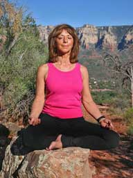 Johanna Maheshvari Mosca leads Sedona yoga, hiking and meditation retreats, workshops, classes and vortex hikes.