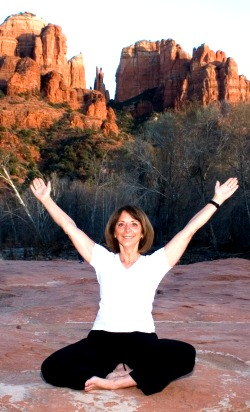 Sedona yoga and meditation retreats, workshops and vortex hikes led by Johanna Maheshvari Mosca and expert guides