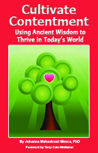 Cultivate Contentment book, by Johanna Maheshvari Mosca, shares ancient yoga wisdom for thriving in today's world