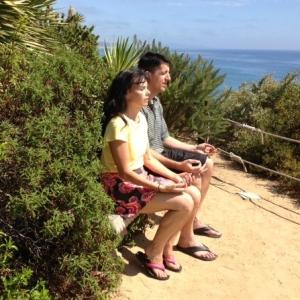 Johanna Maheshvari Mosca leads yoga, meditation and beach retreats in Encinitas, California