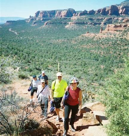 Guided Yoga, Hiking & meditation at Sedona's vortexes
